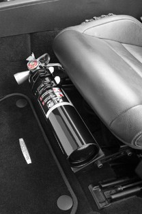 Fire Extinguisher Seat Mount | Corvette Mods