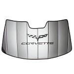 Corvette C6 Folding Logo Sunshade