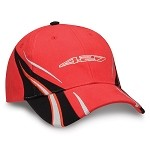 C6 Corvette 2005-2013 Red / White 427 Embroidered Logo Cap