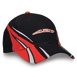C6 Corvette 2005-2013 Black / Red 427 Embroidered Logo Cap