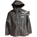 C6 Corvette 2005-2013 Rain Jacket - Embroidered Logo