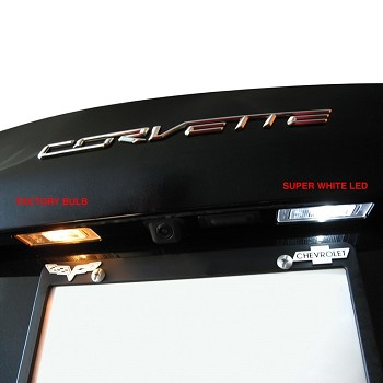 C7 Corvette Stingray 2014 + LED License Plate LED Set