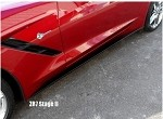 C7 Corvette Stingray 2014+ Stage 2 Style Side Skirts
