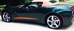 C7 Corvette Stingray 2014+ Side Door Stripes - Pair