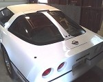 C4 Corvette 1984-1996 Color Matched Split Window Panel