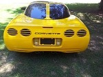 C5 Corvette 1997-2004 Color Matched Split Window Panel