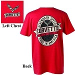 C7 Corvette Stingray/Z06 2014+ Corvette Labeled T Shirt