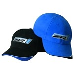 C6 Corvette 2005-2013 ZR1 Supercharged Cap - Blue / Black