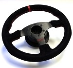 C6 Corvette 2005-2013 12.9 Inch Suede Steering Wheel