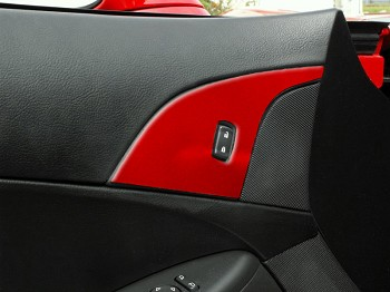 C6 Corvette 05-13 Door Lock Trim - Custom Painted