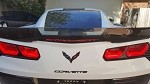 C7 Corvette Stingray/Z06/Grand Sport 2014+ Third Brake Light Blackout Decal - Lighted Script