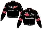 C1/C6 Corvette Mens Generational Twill Jacket