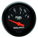 Universal Corvette 1968-2014+ Autometer 2-1/16 inch Fuel Level 73-10 ohm GM SSE