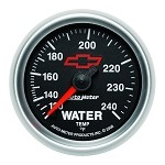Universal Corvette 1968-2014+ Autometer 2-1/16 inch Water Temperature 120-240F - GM Black