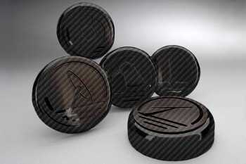 C6 Corvette 2005-2013 Hydrocarbon Carbon Fiber Cap Cover 5pc Set