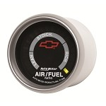 Universal Corvette 1968-2014+ Autometer 2-1/16 inch Narrowband Air/Fuel Ratio, Lean-Rich - GM Black