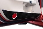 C6 Corvette 2005-2013 Hydrocarbon Carbon Fiber Door Guards