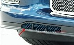 Corvette C6 Z06/Grand Sport Custom Painted Air Dam Grilles Laser Mesh