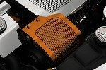 C6 Corvette 05-13 Custom Painted Alternator Cover Perforated