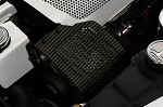 C6 Corvette 2005-2013 Hydrocarbon Carbon Fiber Alternator Cover - Perforated
