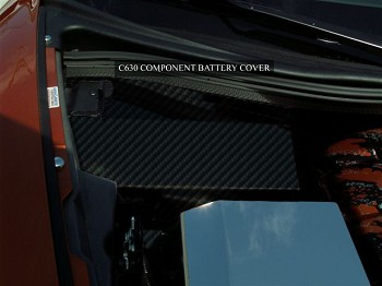 C6 Corvette 2005-2013 Hydrocarbon Carbon Fiber Battery Cover