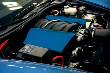 Corvette C6 Custom Painted Fuel Rail Covers LS2 LS3