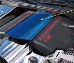 Corvette C6 Custom Painted Plenum Cover