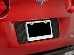 C6 Corvette 2005-2013 Hydrocarbon Carbon Fiber Perforated License Plate Frame