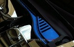 Corvette C6 05-13 Custom Painted Wiper Cowl Overlay