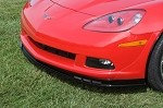 Corvette C6 05-13 Base Model Z06 Style Splitter w/ Screens