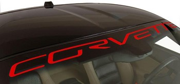 C6 2005-2013 Corvette Windshield Decals - Customization Options