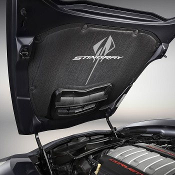 C7 Corvette Stingray 2014+ Stingray Logo Hood Liner