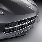 C7 Corvette Stingray 2014 + Stingray Stainless Grille Insert