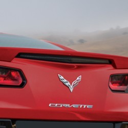 C7 Corvette Stingray 2014 + Paint Matched Rear Spoiler- Blade Style