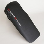 Corvette C6 Grand Sport OEM Console Lid - Logo Embroidered