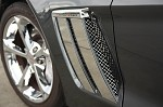 Corvette C6 Grand Sport Side Fender - Laser Mesh