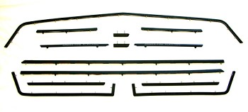1984 C4 Corvette Body Moulding Kit (13 pcs) Cross-Fire