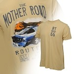 C3 C4 C5 C6 Corvette 1968-2013 Watercolor Route 66 T-Shirts