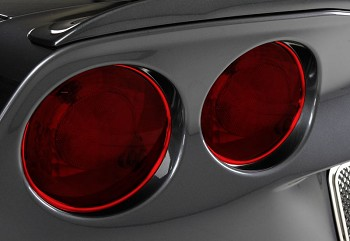 Corvette C6 05-13 Custom Painted Taillight Trim Kit Set Of 4