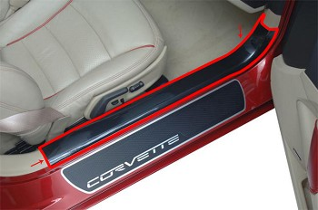 Corvette C6 05-13 Inner Sill Guards Protection