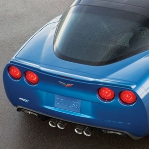 Corvette C6 GM ZR1 Unpainted Spoiler w/ Hardware