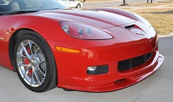 Corvette Front Splitter ZR1 Style Custom Painted : 2005-Current Base  Z06, ZR1, Grand Sport