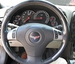 Corvette C5 C6 Carbon Fiber Steering Wheel Covers