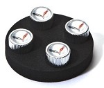 C7 Corvette Stingray/Z06 2014+ Valve Stem Caps w/ Logos