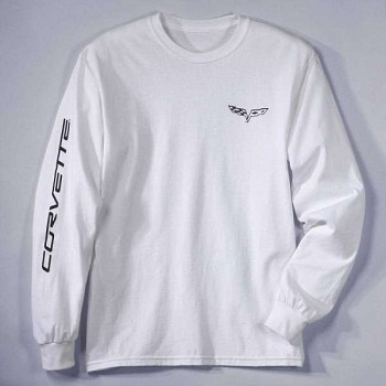 Corvette C6 Race Day Long Sleeve T-Shirt