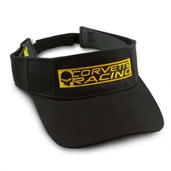 Corvette C6 Black Racing Visor