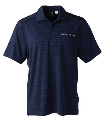 Men's Corvette C7 CB DryTec™ Highland Park Navy Polo