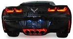 C7 Corvette Stingray 2014+ LED Strip Lighting - Exhaust Plate