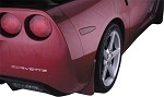 Corvette C6 05-13 Painted Molded Splash Guard Set