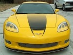 Corvette C6 Z06 Hood Graphic Decal